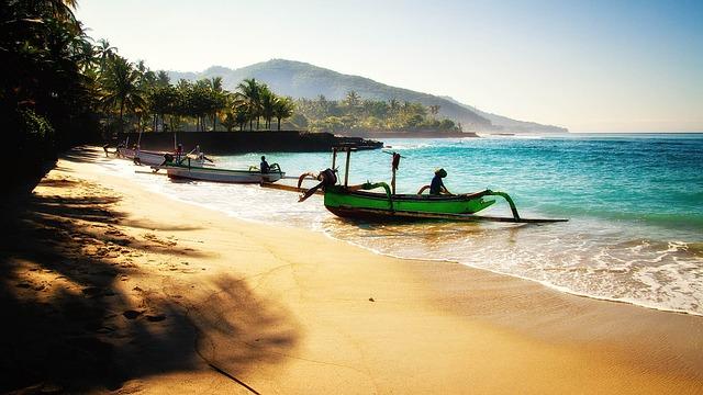Bali pláž