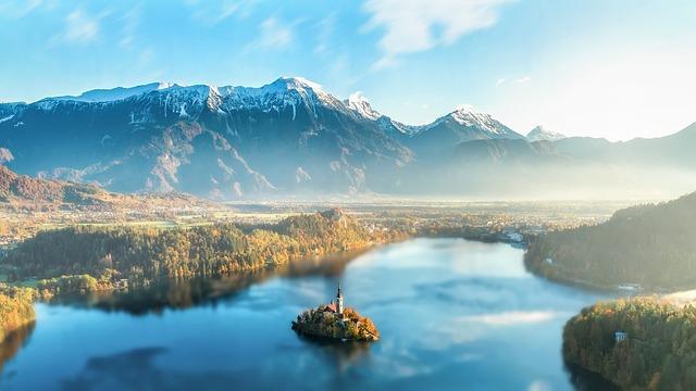 Jezero Bled - Slovinsko ubytování